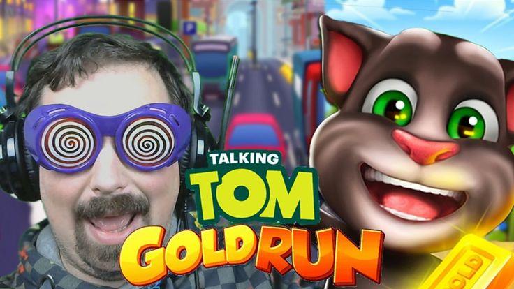 Talking Tom Gold Run Gameplay ITA : CORSA ALL'ORO !!