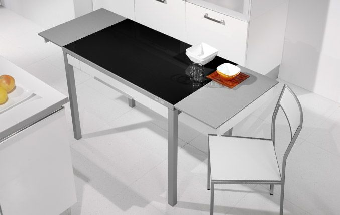 103 best mesas sillas y taburetes para el hogar images on pinterest - Table transparente extensible ...