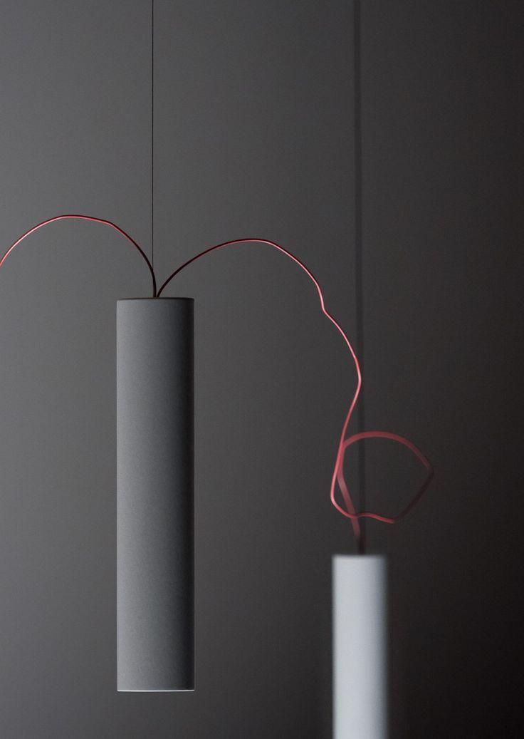 LED metal pendant lamp SIMBIOSI - @davidegroppi