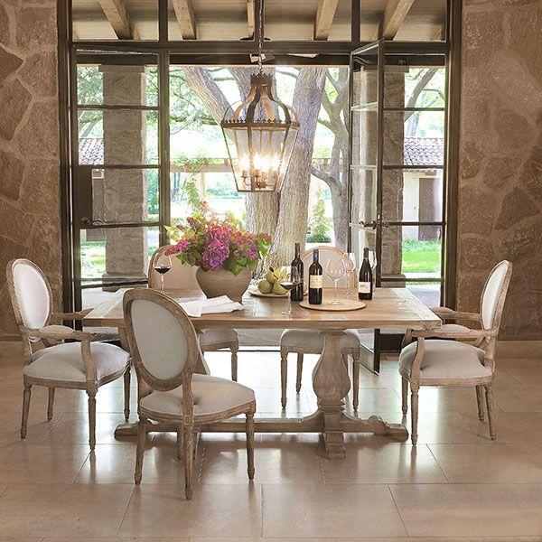 Dining space via Wisteria... Love