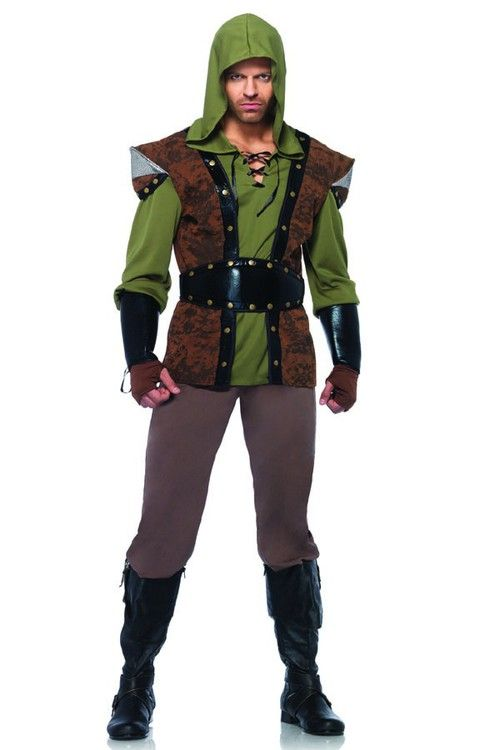 classic mens robin hood costume is always a hit for halloween or other functions - Classic Mens Halloween Costumes
