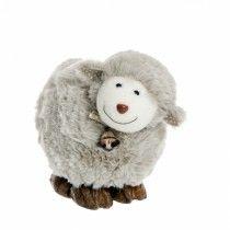 Bárány dekoráció (bézs, 17 cm)