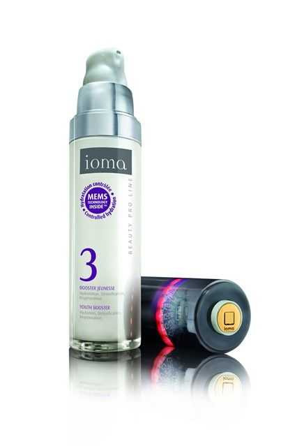 Ioma Youth Booster Skincare With NASA MEMS Technology.