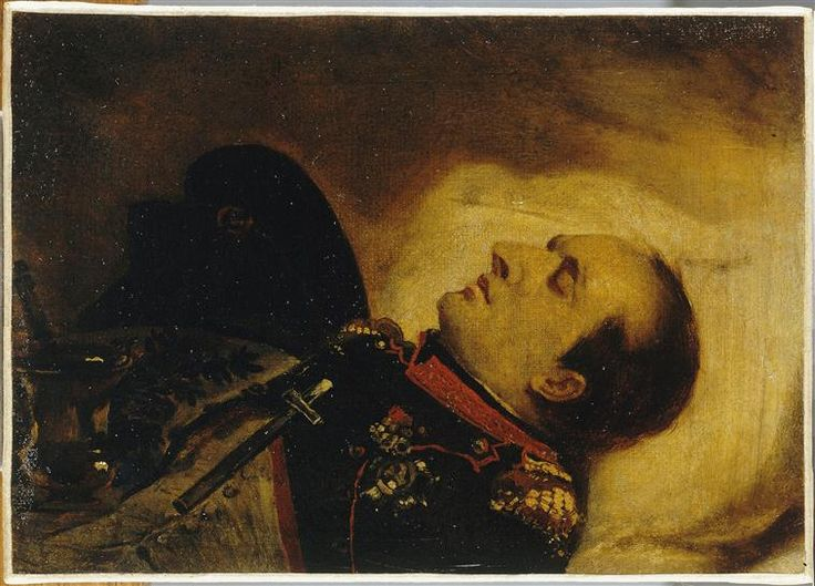 Jean-Baptiste Mauzaisse | Napoléon Ier sur son lit de mort, le 5 mai 1821 |