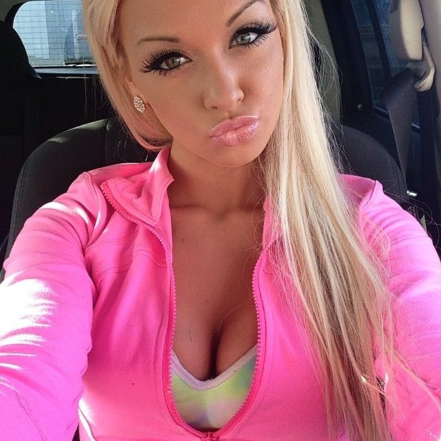 sexy blonde barbie