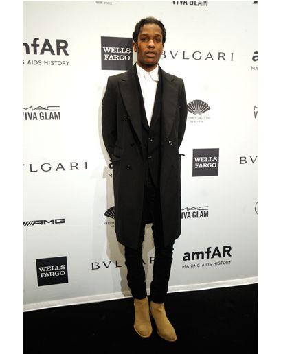 ASAP Rocky | Wearing an Air Tie