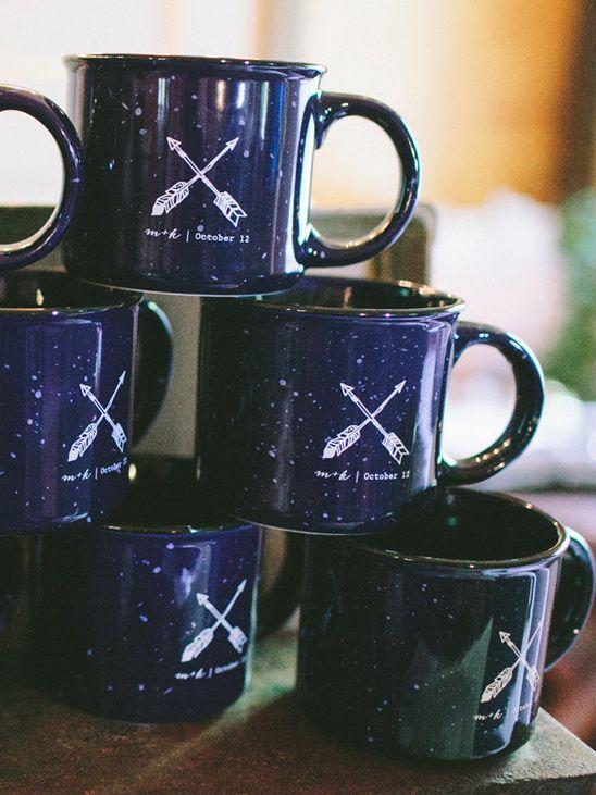 camp mug wedding favor @weddingchicks