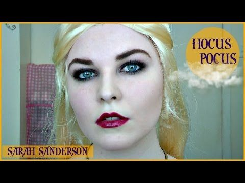 HOCUS POCUS Sarah Sanderson Tutorial | HALLOWEEN 2015