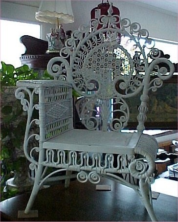 ~Wicker Photographer's Chair~