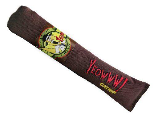 Yeowww Cigar Catnip Toy, Singles