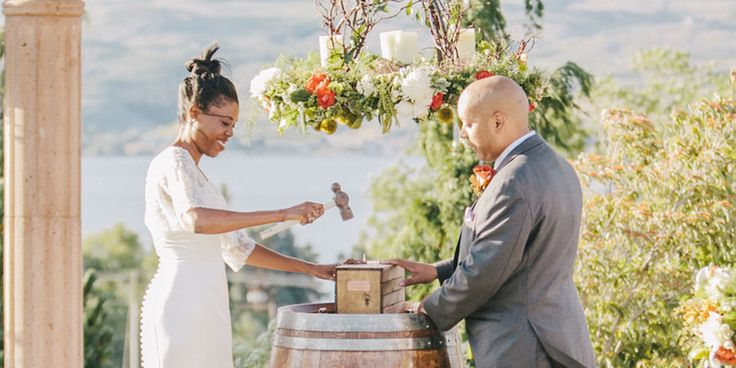 Considering a wine box ceremony for your wedding? Our Rutherford Estate Vineyard Cabernet Sauvignon ages very well                                                                                                                                                                                 More