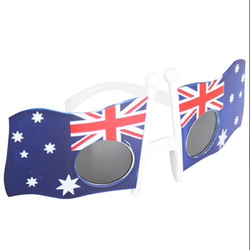 Australia Flag Sunglasses for Australia Day $5  Delivery available Australia wide   Parcel Post $8   Express Post $10