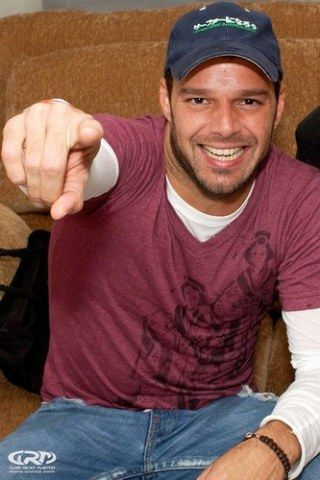 Ricky Martin - Photo posted by 100mabelita