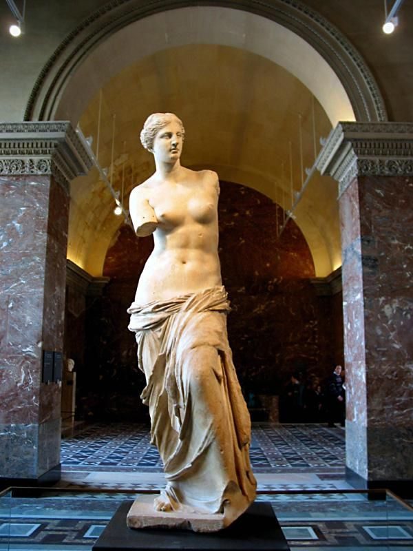 Venus de Milo. The Louvre, Paris.