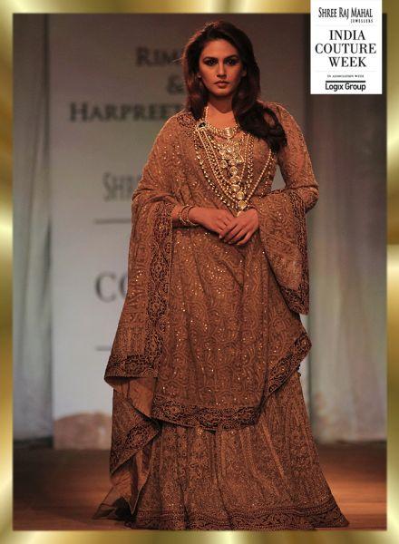 India Couture week 2014- Huma Qureshi