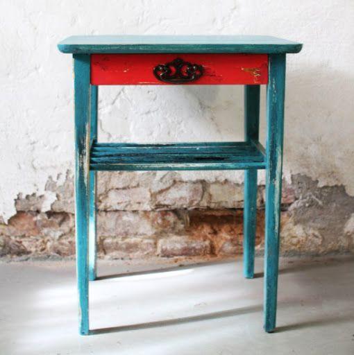 Indiskt sidobord aterbruket.blogg.se | Vintage & Second hand -  http://www.getosom.com/a/5199023552069632-5891733057437696  #vintage #secondhand #fashion #osom #iwantthis