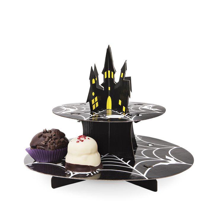 Patera z kartonu przyda się na halloweenowe szaleństwo! #tigerpolska #tigerstores #tigernews #news #nowości #halloween #patera #plateau #ciastka #ciasto #cake #pie #cookie #autumn #jesień #październik #october