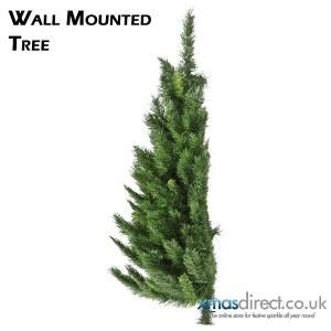 Wall Mounted Christmas Tree £35.99 (for 4ft)