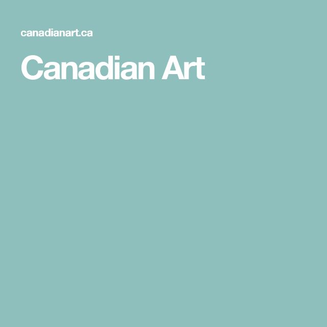 Canadian Art