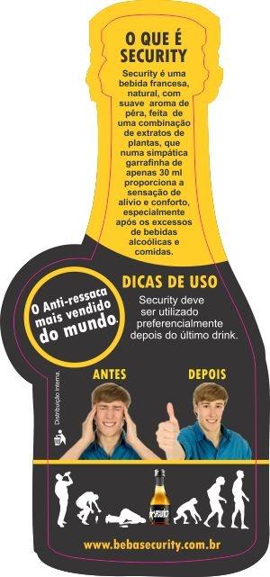 SECURITY, o anti-ressaca natural que funciona. http://www.ressacanuncamais.com.br