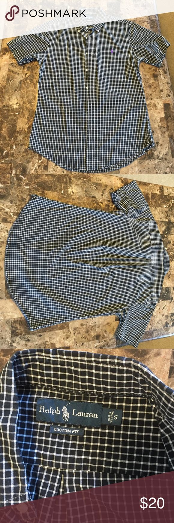 Ralph Lauren polo short sleeve dress shirt. Gorgeous men's shirt like new, no longer fits my husband. Ralph Lauren Shirts Dress Shirts