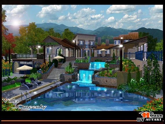 I would love this house for the island paradise expansion pack
