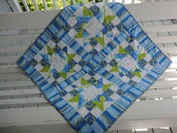 Trapunta+-+appeso+a+parete%2C+Baby+Quilt+o+tabella+Topper