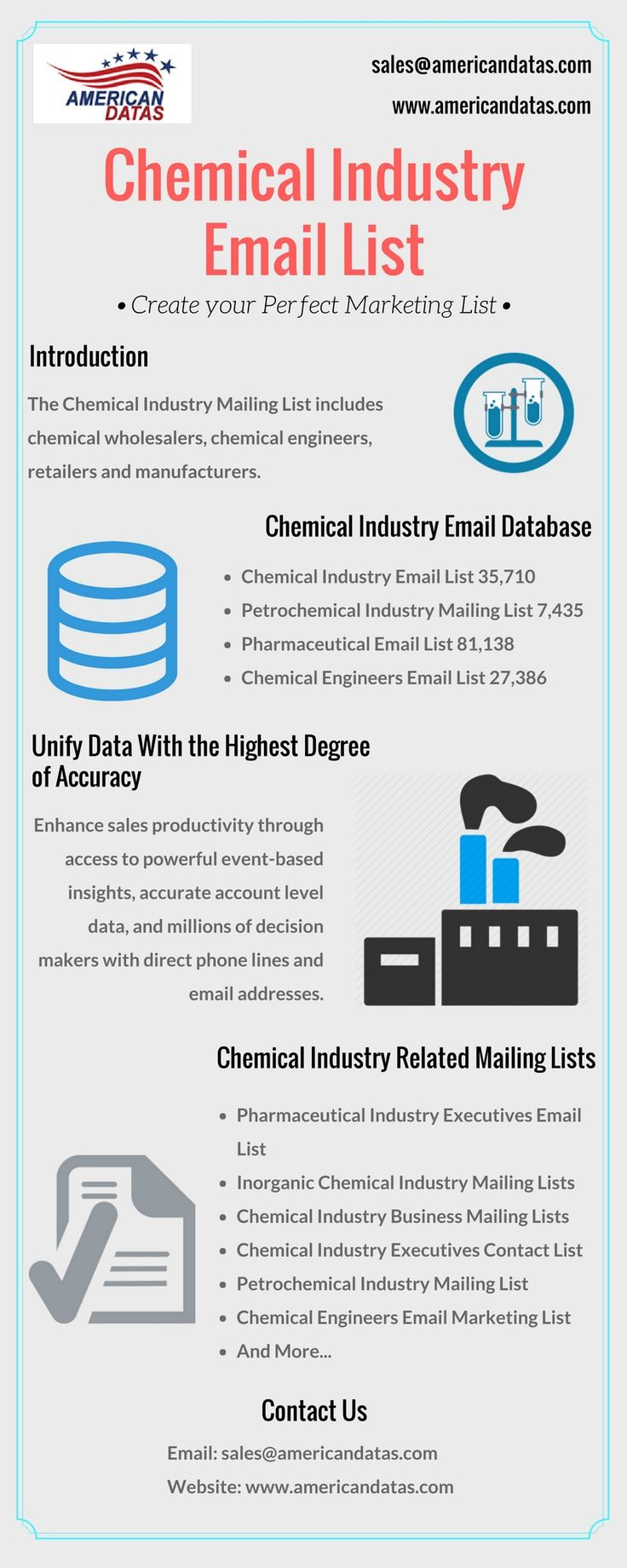 Chemical Industry Email List | Chemical Industry Database | Chemical Industry Professionals Mailing List