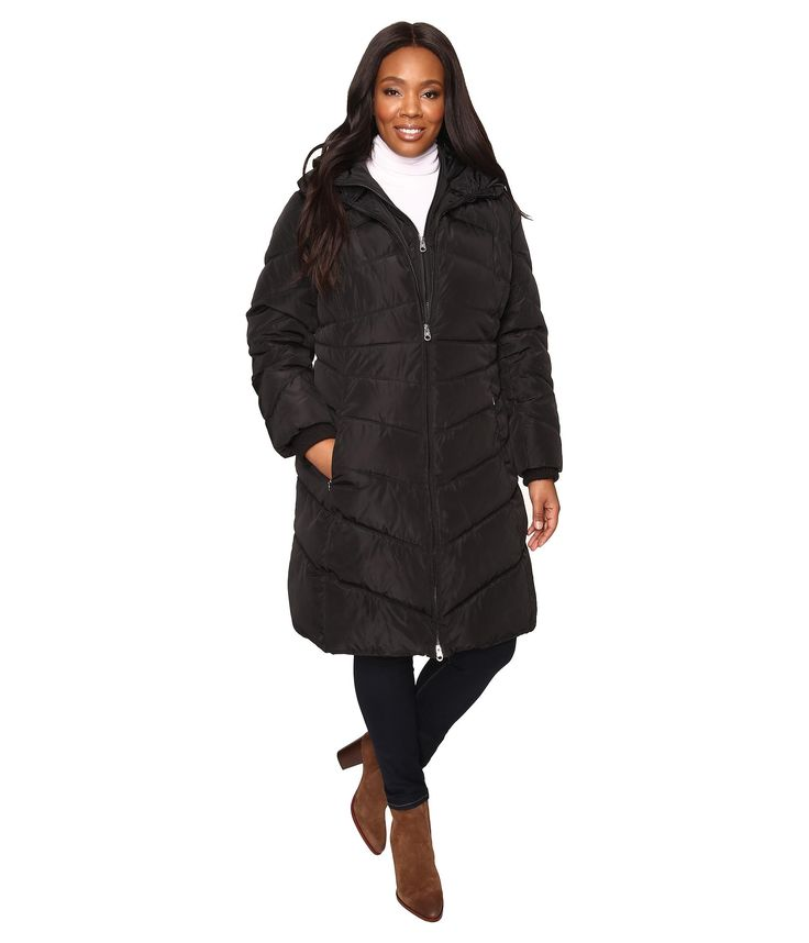 Jessica Simpson Plus Size Down Coats