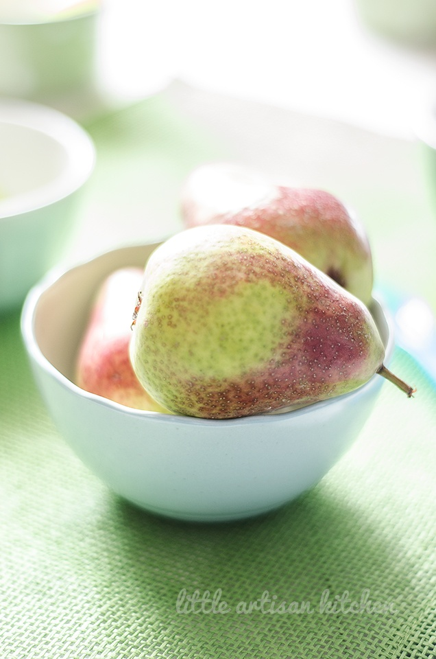 Pears by Little Artisan Kitchen