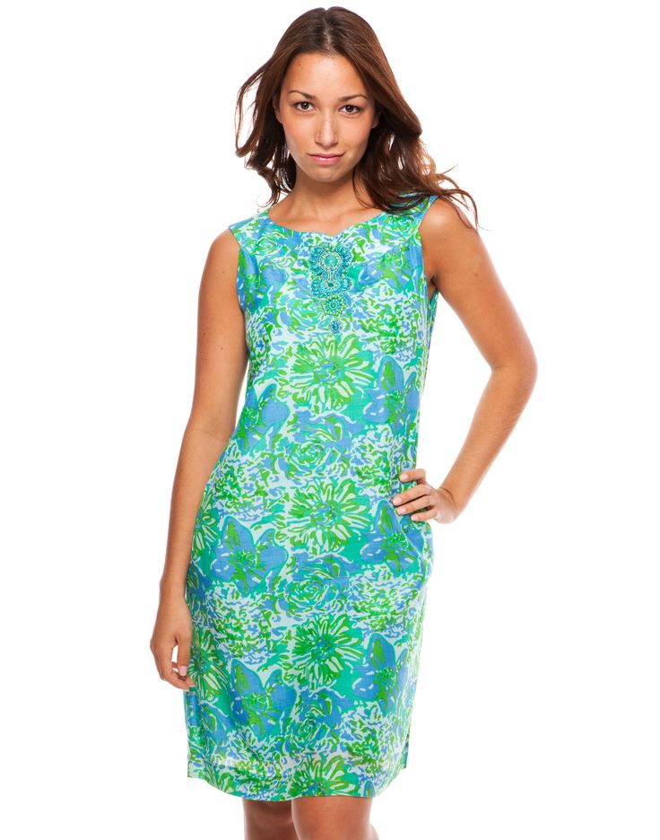 Lexi U-neck Dress - Green