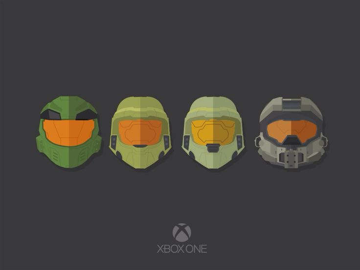 Masterchief Helmets selection, although our spell-checker is determined to change it to Masterchef, so...!