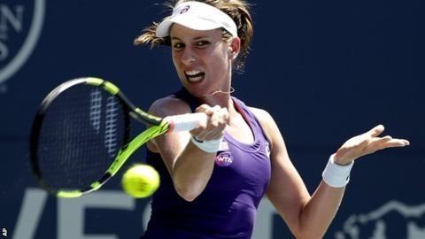 Johanna Konta beats Venus Williams to win first WTA title in Stanford
