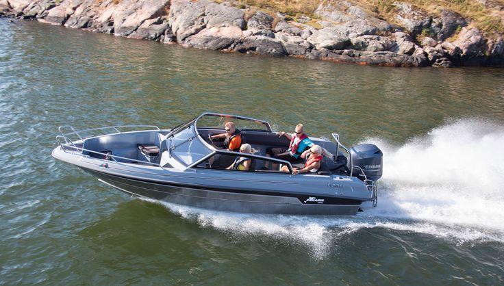 Yamarin Cross 64BR. On muuten tyylikäs laite! #yamarincross #boats #summer #koskimies #urheilukoskimies