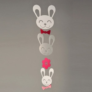 Spring Bunny Mobile Petite now featured on Fab.