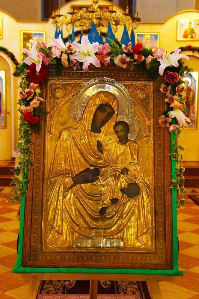 Icoana Maicii Domnului de la Mănăstirea Hîrbovăţ-Republica Moldova