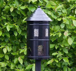 Gigantmatare svart – Stor fågelmatare – Wildlife Garden