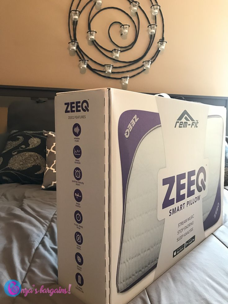 ZEEQ Smart Pillow Review - #EBHolidayGiftGuide