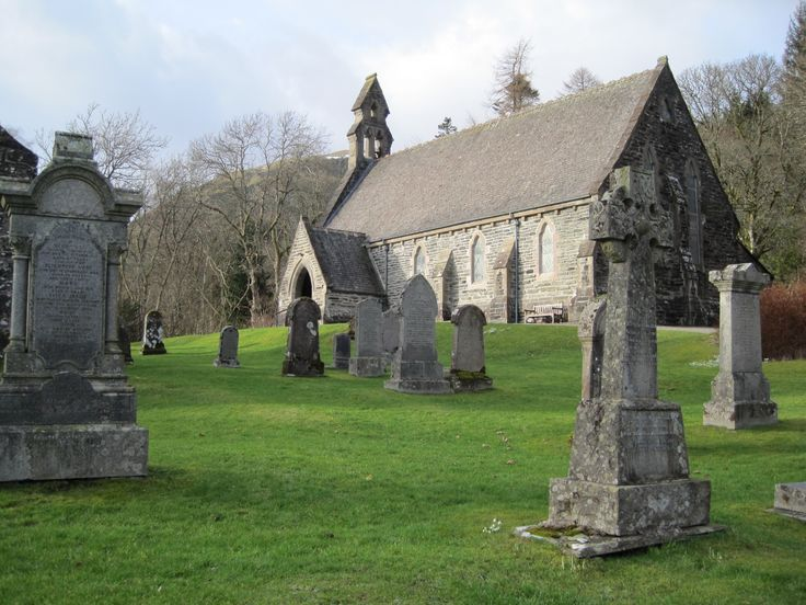 Balquidder Church, Lomond and the Trossachs - home of Rob Roy's grave www.paltechnologies.com