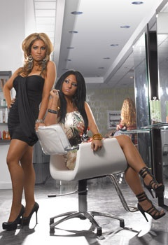 Jerseylicious. Tracy and Olivia.