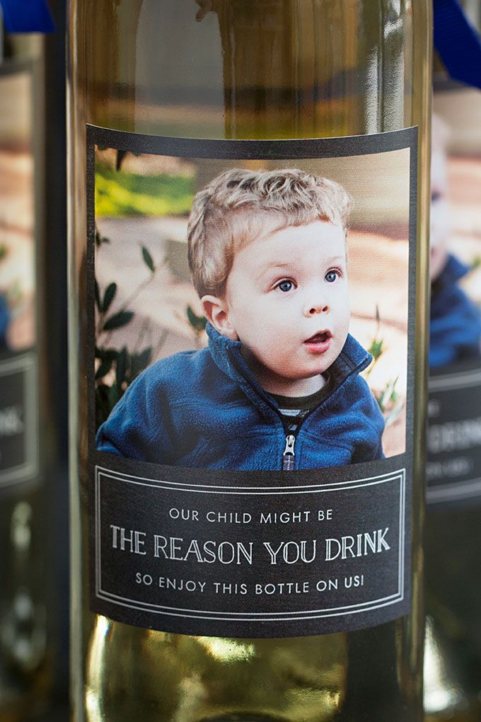 Teacher Appreciation Gift: Wine Bottles with Personalized Labels | Evermine Blog | www.evermine.com
