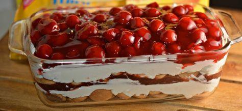Cseresznyés krémes csoda! Könnyed sütés nélküli finomság!