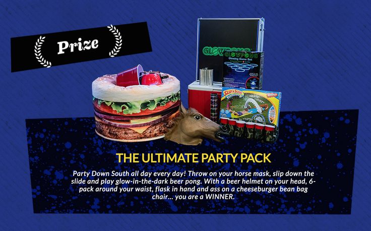 Win The Ultimate Party Pack! Value:  $500.00 | Expires:  February 20, 2015 | Eligibility:  United States, No AK or HI, 21+ Click to enter!