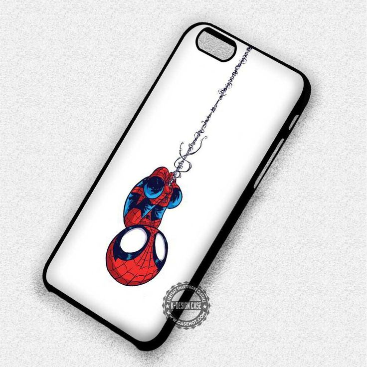 Baby Spiderman Cute - iPhone 7 6 Plus 5 SE Cases & Covers