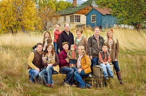 Lovely Large Family Photography Ideas - 32 - Pelfind