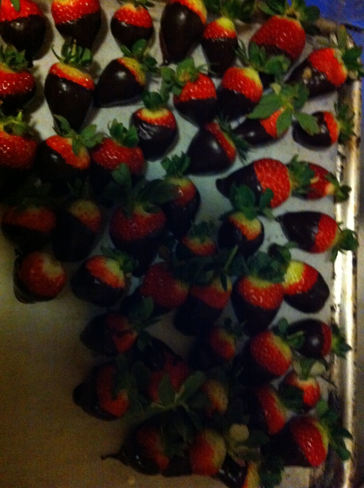 Loved up strawberries