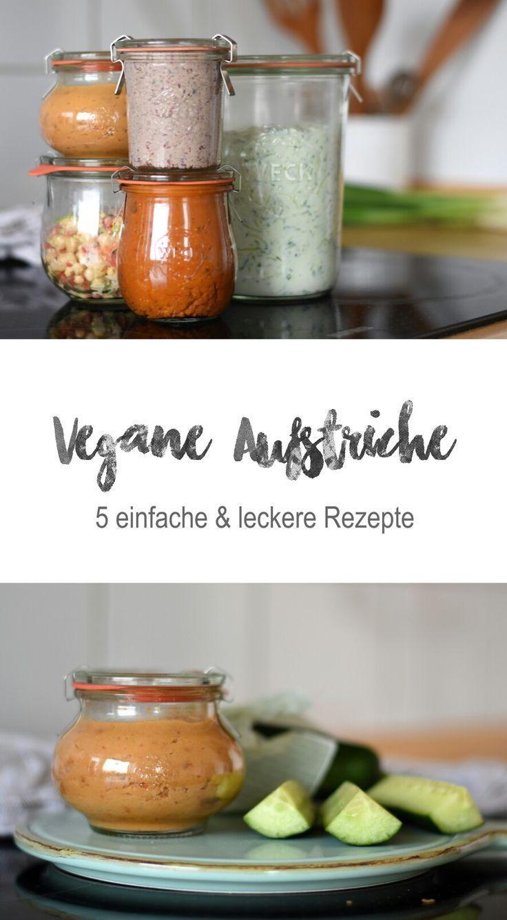 5 vegane Dips & Brotaufstriche