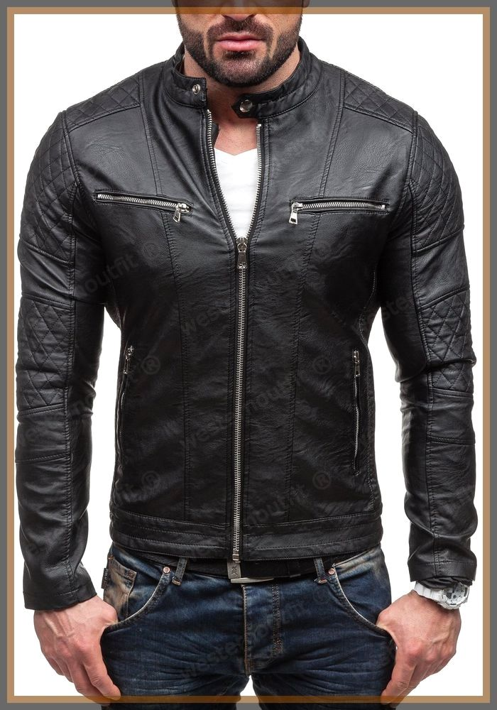 Mens Leather Jackets Leather Jackets Can Be A Vital Part Of Every Man S Set Of Clothing Men Have To Lambskin Leather Jacket Leather Jacket Leather Jacket Men