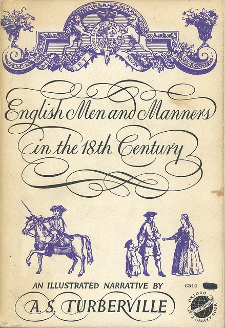 English Men and Manners in the 18th Century