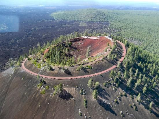 Cinder Cone at Lava Butte, Bend Oregon.